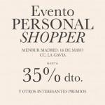 Sesión de personal shopping by Menbur y Bymyheels