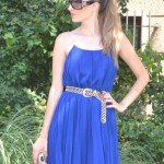 Azul klein dress, golden and giveaway