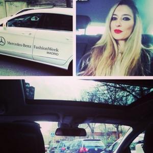 Mercedes CLS Lara Martin Gilarranz Bymyheels MBFWM