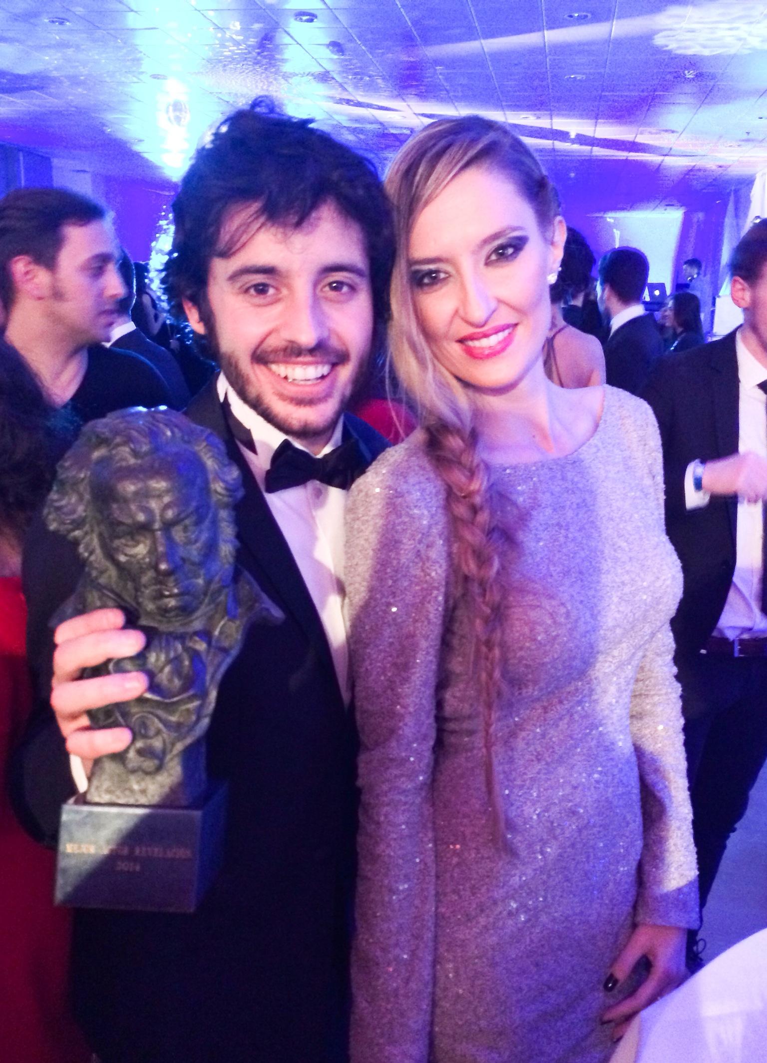 Javier Pereira Premios Goya