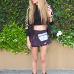 Shorts, hoodie and booties – LA