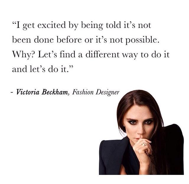 Victoria Beckham quote