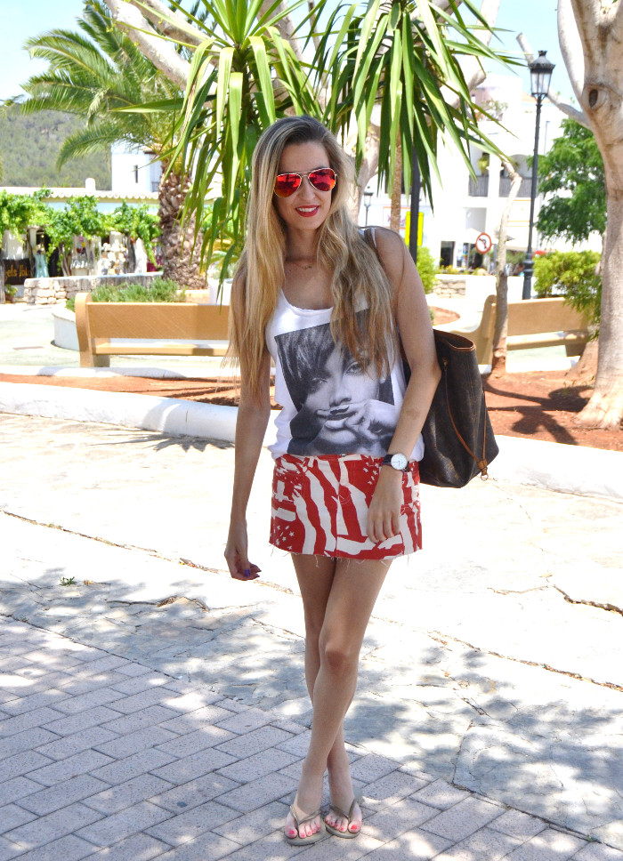 Strates_Print_Skirt_Blenders_Sunglasses_Eyewear_Eleven_Paris_T-shirt_Havaianas_Neverlfull_Louis_Vuitton_Lara_Martin_Gilarranz_Bymyheels (1)