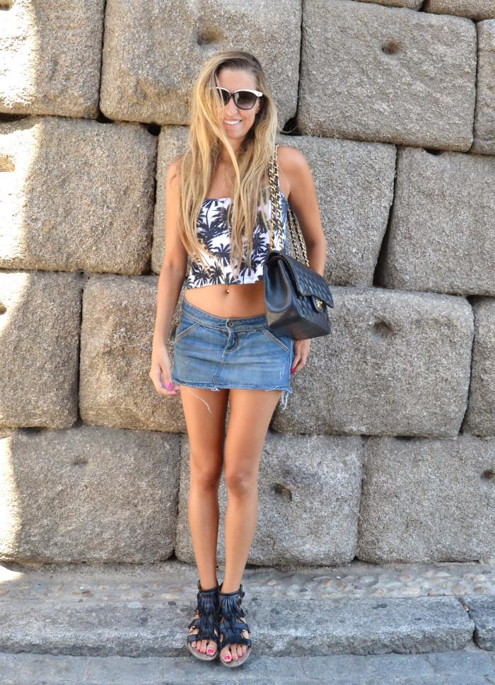 Segovia_Denim_Skirt_Esprit_Sunnies_Chanel_Mustang_Lara_Martin_Gilarranz_Bymyheels (2)