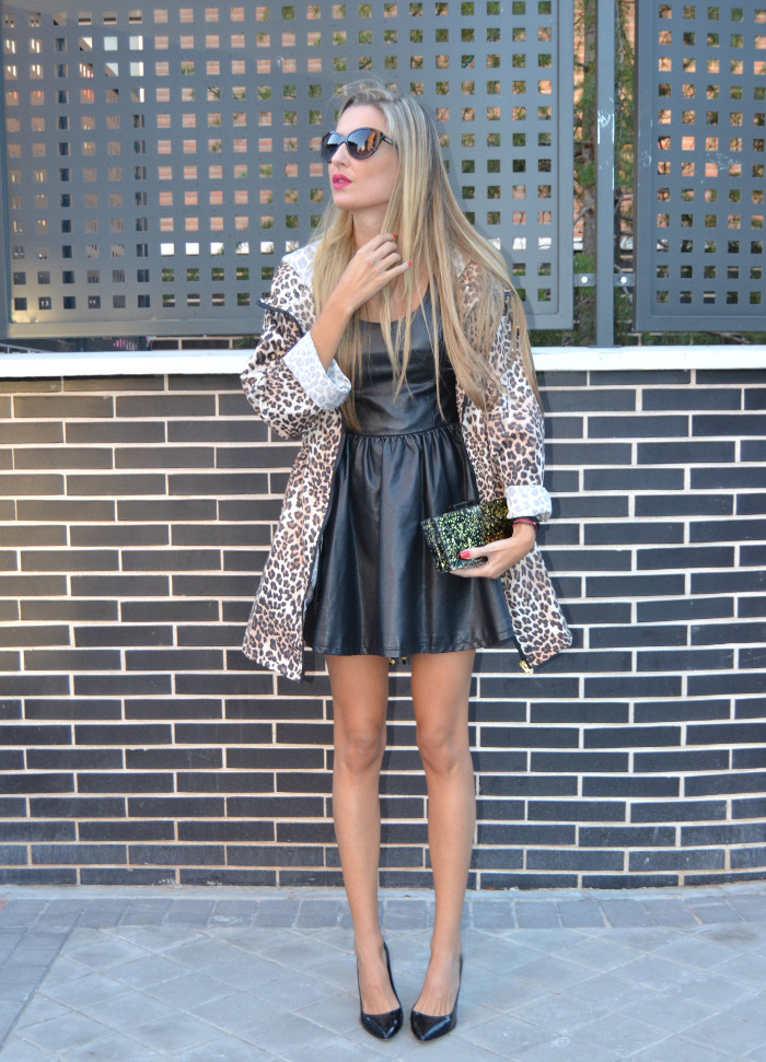 Venca_Gabardina_Animal_Print_Leather_Dress_Zapatos_Negros_Charol_Armand_Basi_Lara_Martin_Gilarranz_Bymyheels (1)