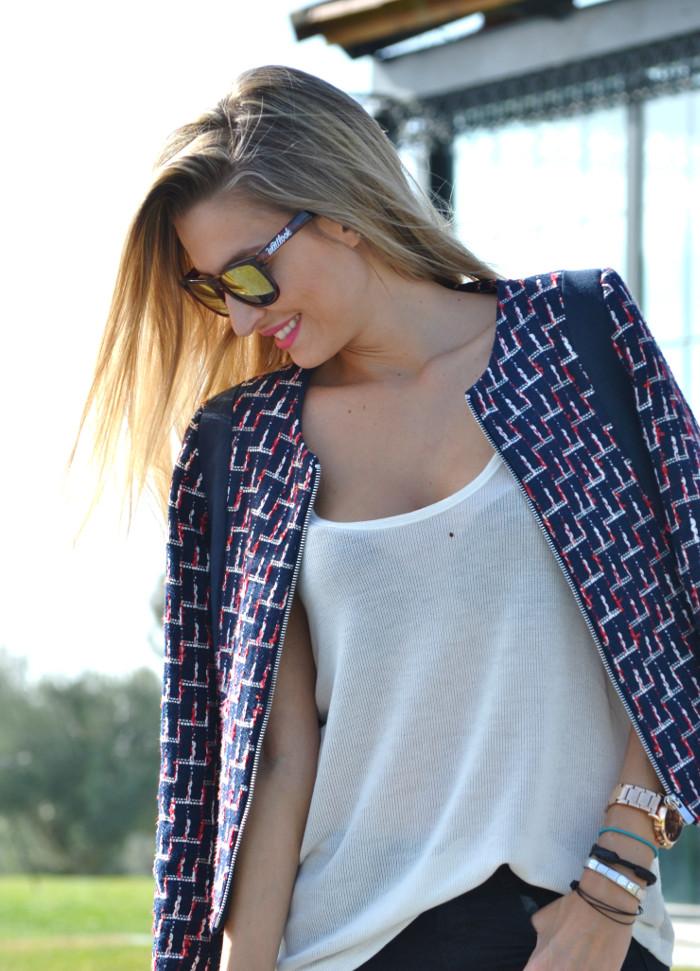 New_Balance_Skinny_Jeans_Blazer_Mirror_Sunnies_Neverfull_Louis_Vuitton_Wantlook_Sunnies_Tank_Top_Lara_Martin_Gilarranz_Bymyheels (2)