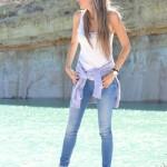 Skinny jeans & New Balance