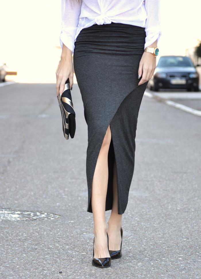 Long_Skirt_Clutch_Compania_Fantastica_Black_White_Stilettos_Lara_Martin_Gilarranz_Bymyheels (2)