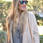 Blazer de color beige