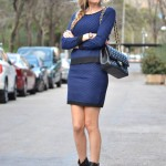 Matchy matchy trend en azul y negro