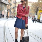 Dress and Perfecto Jacket