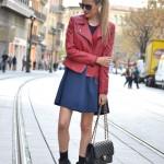 Dress and Perfecto Jacket