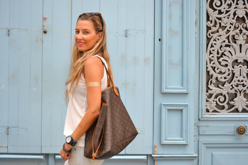 Capri_Pants_Bayona_Tank_Top_Nike_Neverfull_Louis_Vuitton_Bymyheels (5)