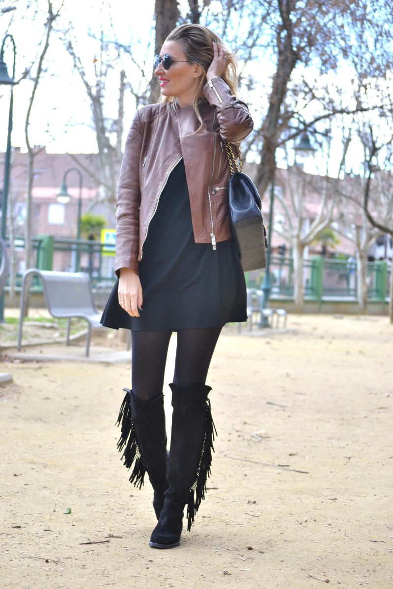 Black_Brown_Biker_Jumbo_Chanel_Lara_Martin_Gilarranz_Salsa_Jeans_Primark_Bymyheels (20)