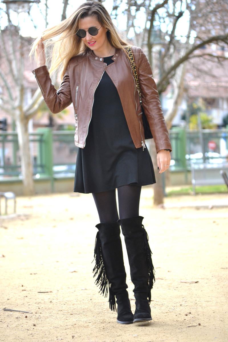 Black_Brown_Biker_Jumbo_Chanel_Lara_Martin_Gilarranz_Salsa_Jeans_Primark_Bymyheels (3)