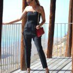 Black jumpsuit with views