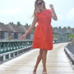 Riva dress in Maldives